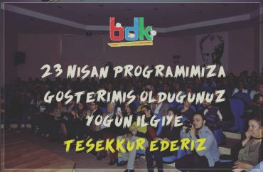 BDK 23 Nisan ÖZEL PROGRAMI 2017 (Full version)